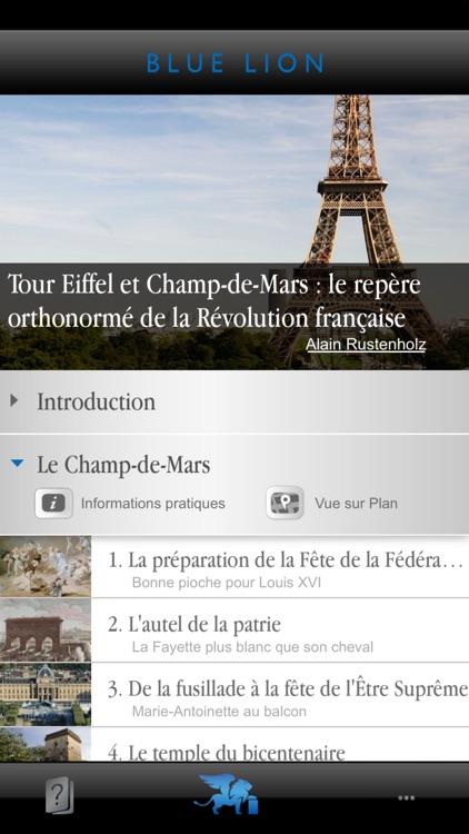 Paris Tour Eiffel - Champ-de-Mars et la Révolution