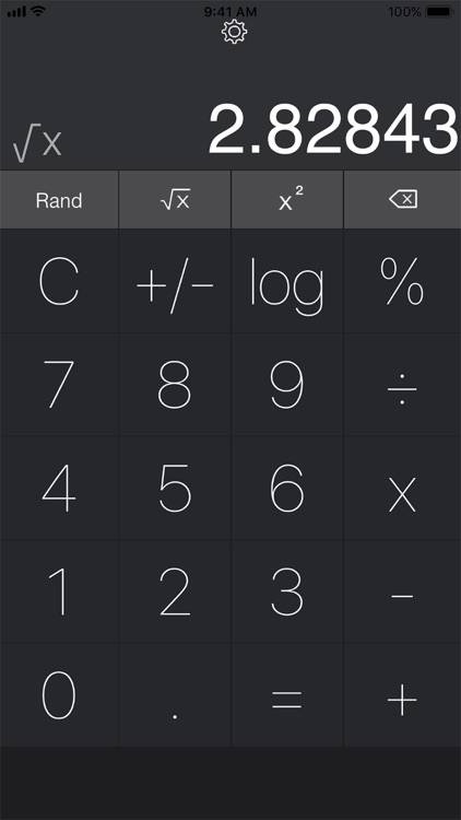 Calculator for iPad, iPhone screenshot-2