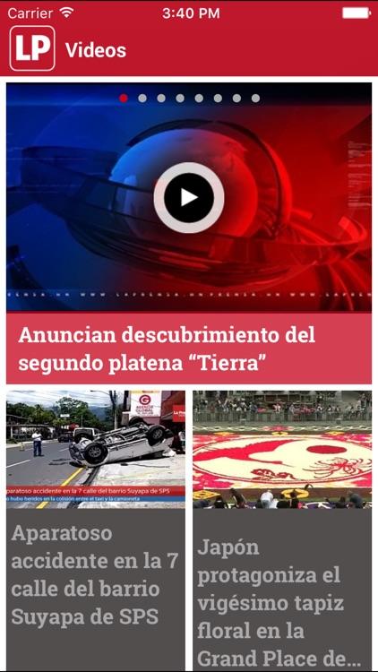 Diario La Prensa Honduras screenshot-4