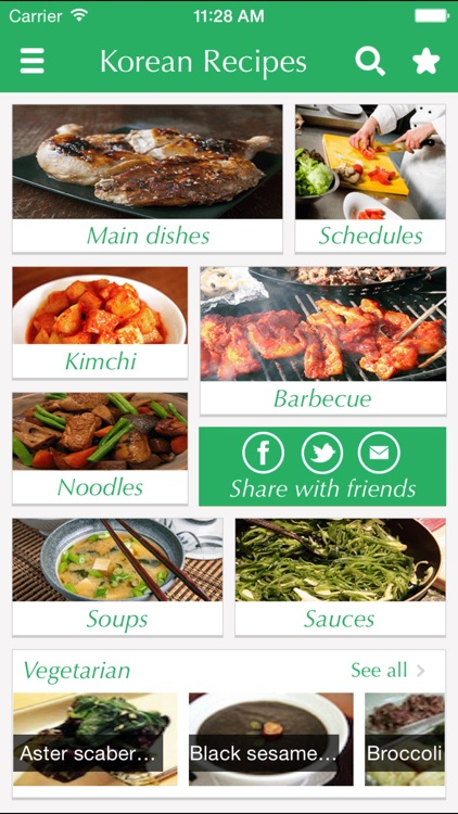 Korean Food Recipes - best cooking tips, ideas