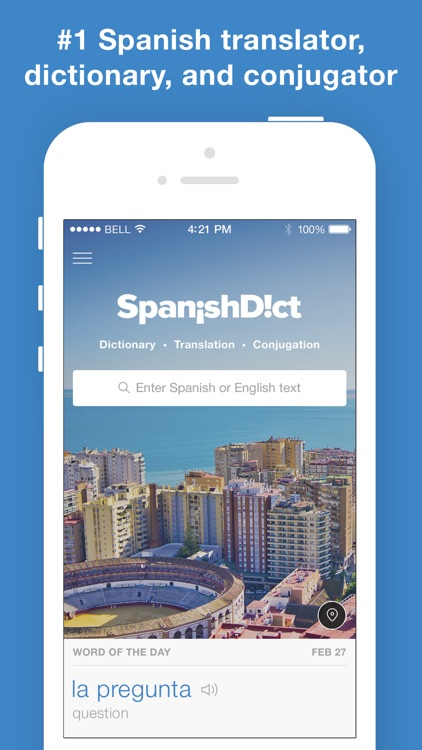 Spanish Translator and Dictionary - SpanishDict screenshot-0