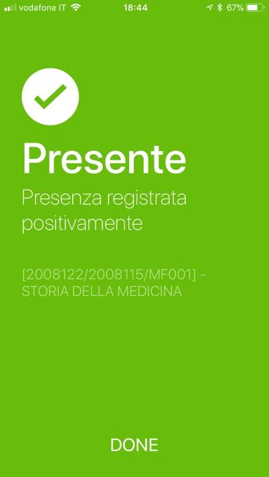 Screenshot of QP UniSI App