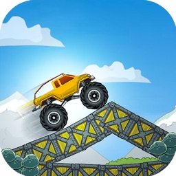 Crazy Monster Truck Destruction : Infinity Roads Game 4x4
