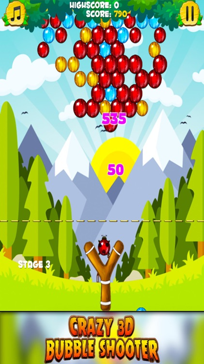 Crazy 3D Bubble Shooter screenshot-4