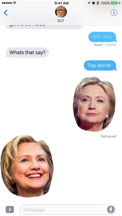 Hillary Sticker Pack
