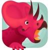 侏罗纪总动员 - 三角龙探索恐龙世界儿童游戏