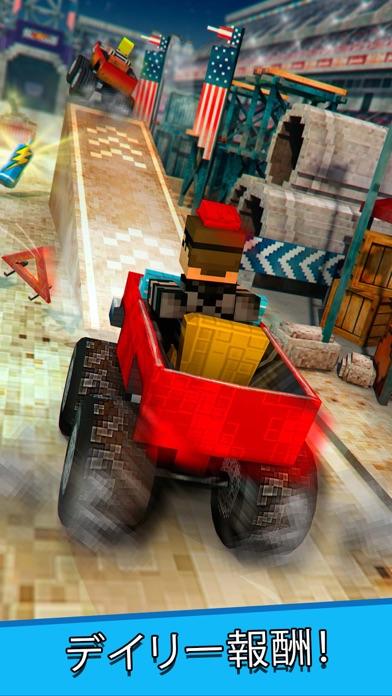 マインクラフト トラック . フリー モンスタートラック シミュレータ レース ゲームのおすすめ画像2