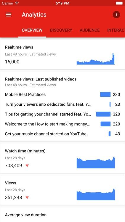 YouTube Creator Studio screenshot-3