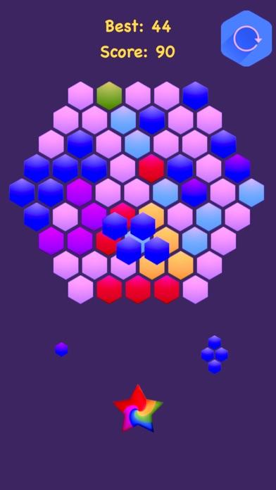 Hexagonal Merge - Premium. screenshot 4