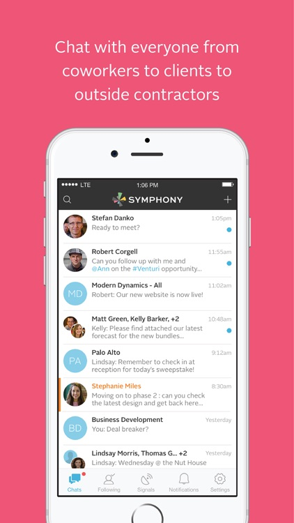 Symphony – secure and compliant communication