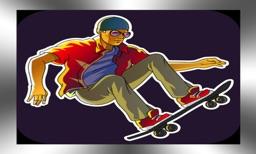 Extreme Skateboarder - Die Hard Racer Chase 3D Game
