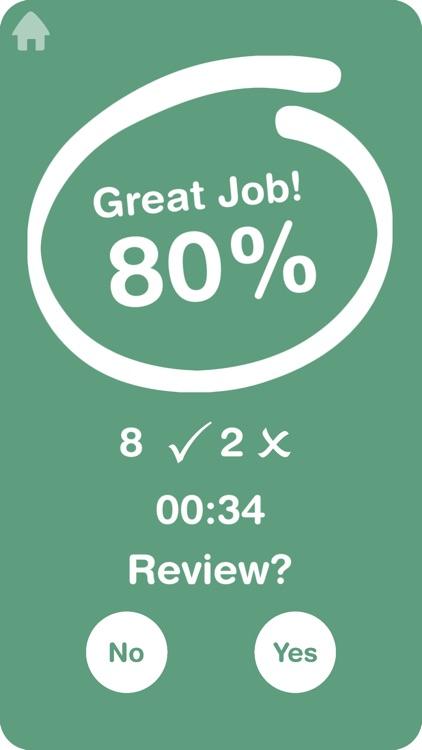 Big Math Flash Cards screenshot-3