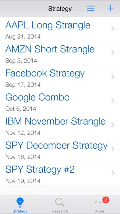 Option Strategies Strangle screenshot-4