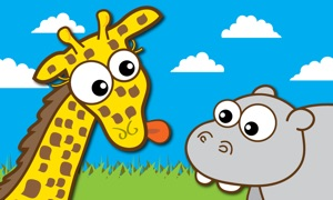 Giraffe's Matching Zoo TV