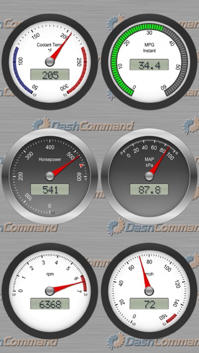 DashCommand - OBD-II gauge dashboards, scan tool, and vehicle diagnostics Screenshot 2