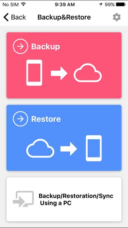JS Backup – migration&restore