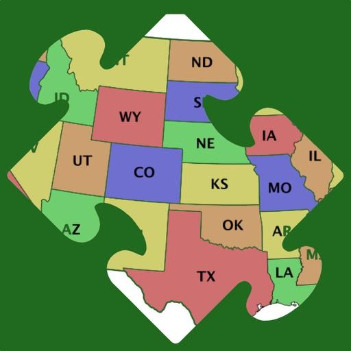 Map Puzzle USA Free