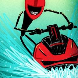 Stickman Wave Racer Free Game - Multiplayer Racing Jet Ski Ride