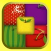 Swipe Fruit Cube Match Puzzle Game Free For Kids