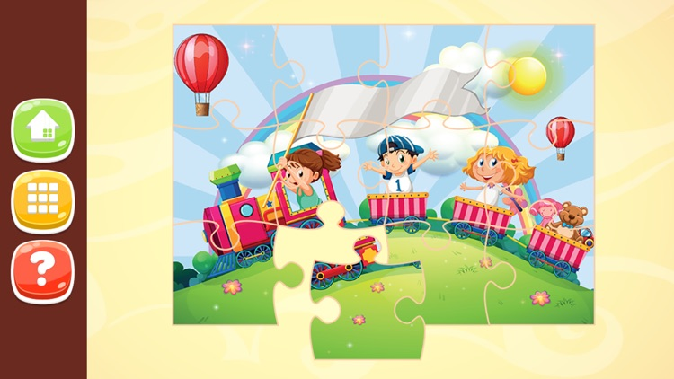 Kids Jigsaw Puzzles HD for Kids 2 to 7 Years Old screenshot-3
