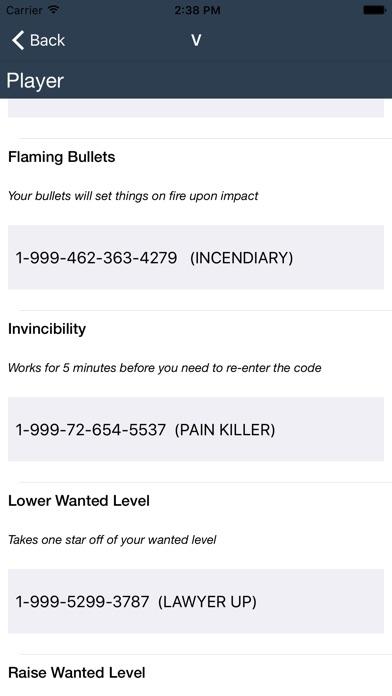 <b>Cheat codes</b> for <b>GTA 5</b> - by Henrik Nielsen - Shopping Category - 95 ...