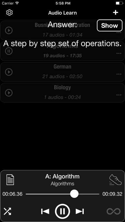 Audio Learn screenshot-3