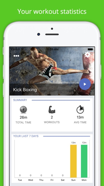 Kickboxing Workout Challenge Free Cardio Training
