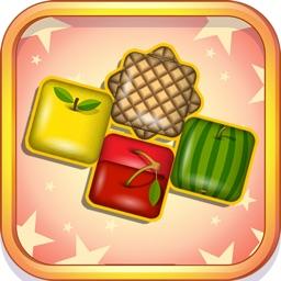 Falling Cube Fruit Fusion Break Blocks Game