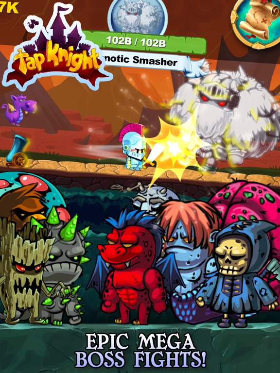 Screenshot 3 Tap Knight - RPG Idle-Clicker