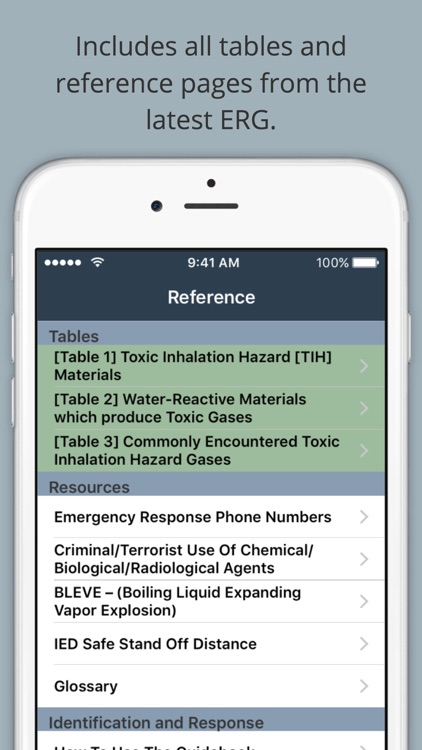 HazMat Reference and Emergency Response Guide screenshot-3