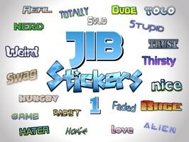 Jib Stickers 1