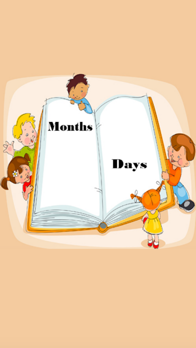 Preschool Education - Days and Months Learning for Kids Using Flashcards and Sounds screenshot three