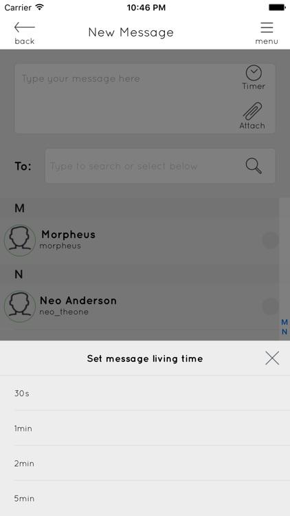 Clear Messenger screenshot-4