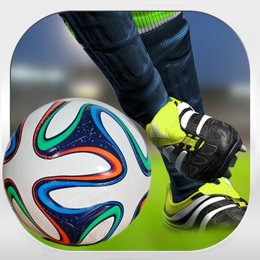Евро FootBall Flick Shoot - футбол угла штрафной специалист