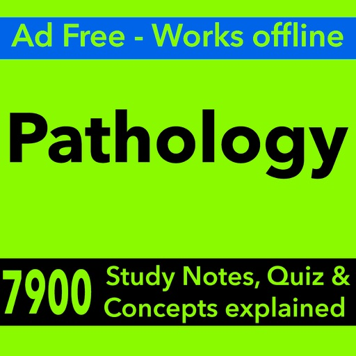 Pathology Exam Review App - Study Notes & Quizzes
