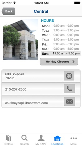 San Antonio Public Library screenshot for iPhone