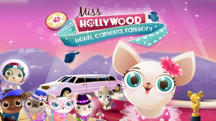 Miss Hollywood: Lights, Camera, Fashion! - Pet Fun screenshot-0