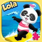 Puzzle de la playa de Lola HD icon