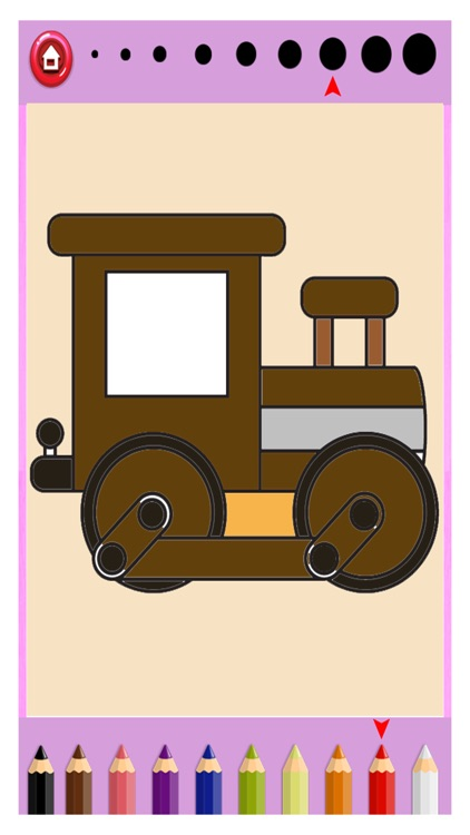 Train Coloring Game for Kids - Kids Learning Game