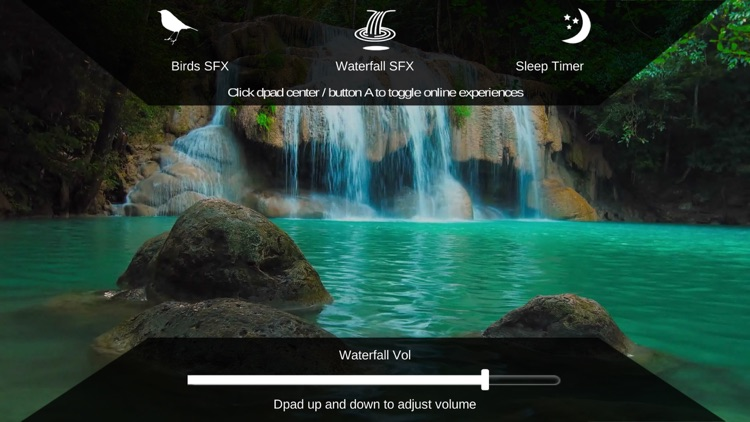 Peaceful Waterfall HD screenshot-3