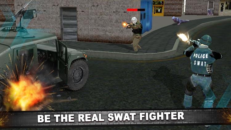 Police Anti Terrorist SWAT Shooter in Crime City screenshot-3