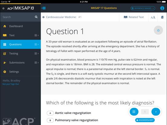 MKSAP 17 | App Price Drops