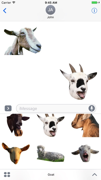 Goat Zoo Stickers