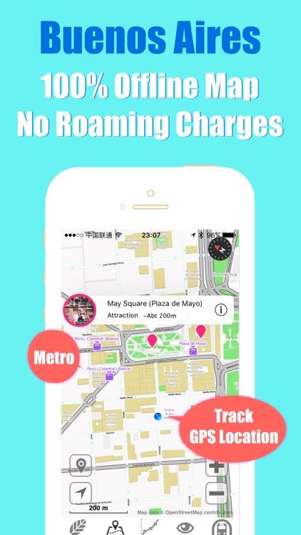 Buenos Aires metro transit trip advisor map guide