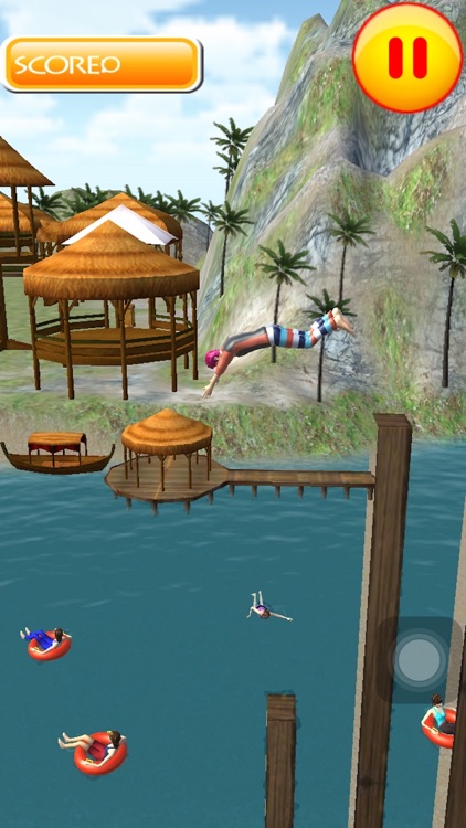 Flip Swim Diving : Cliff Jumping screenshot-4