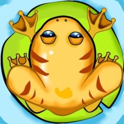 golden frogs