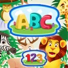 ABC 123 Kids Coloring Book - Alphabet & Numbers