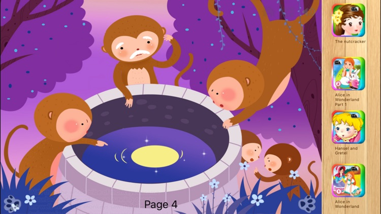The Monkeys Who Tried to Catch the Moon iBigToy screenshot-3
