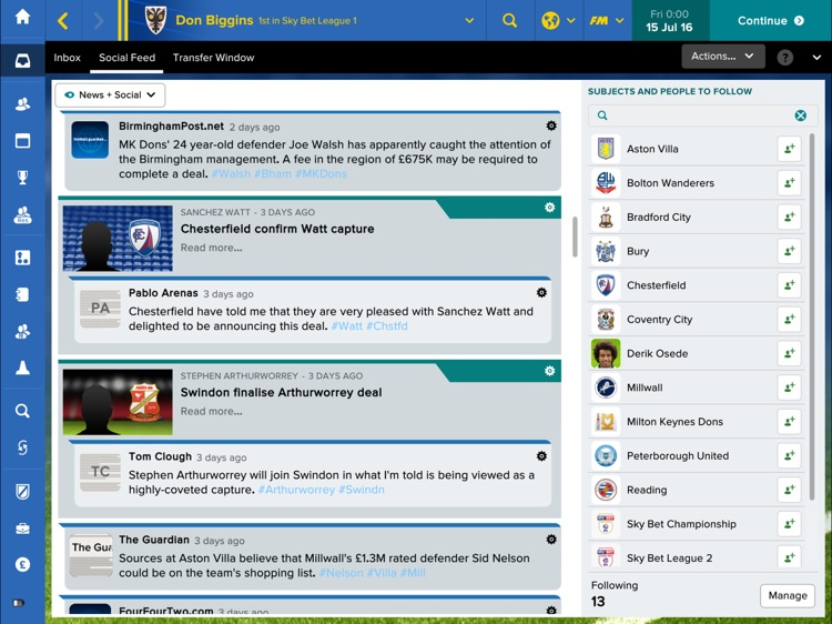 Football Manager Touch 2017 screenshot-4