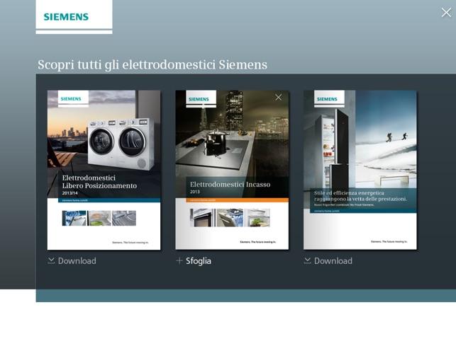 Siemens elettrodomestici im App Store